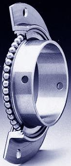 aerospace special flanged ball bearings