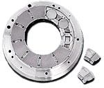 Equalizing and non equalizing thrust pad bearings